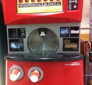 Redbox-powered Seattle's Best Coffee kiosk at the Harris Teeter grocery store in Reston, Va., in December 2011.
