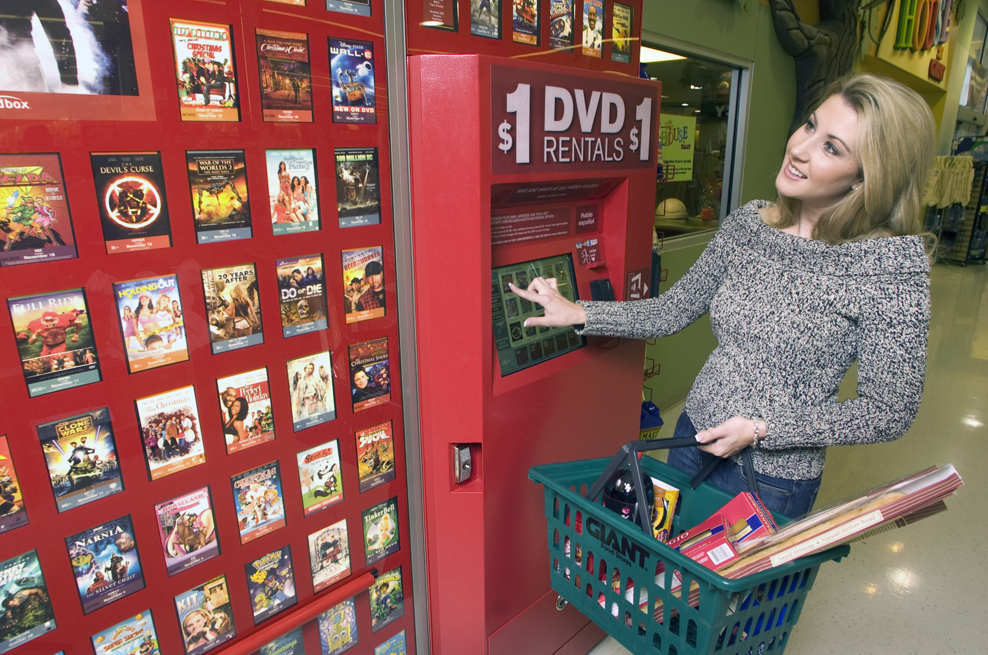 can you return redbox dvd to any location